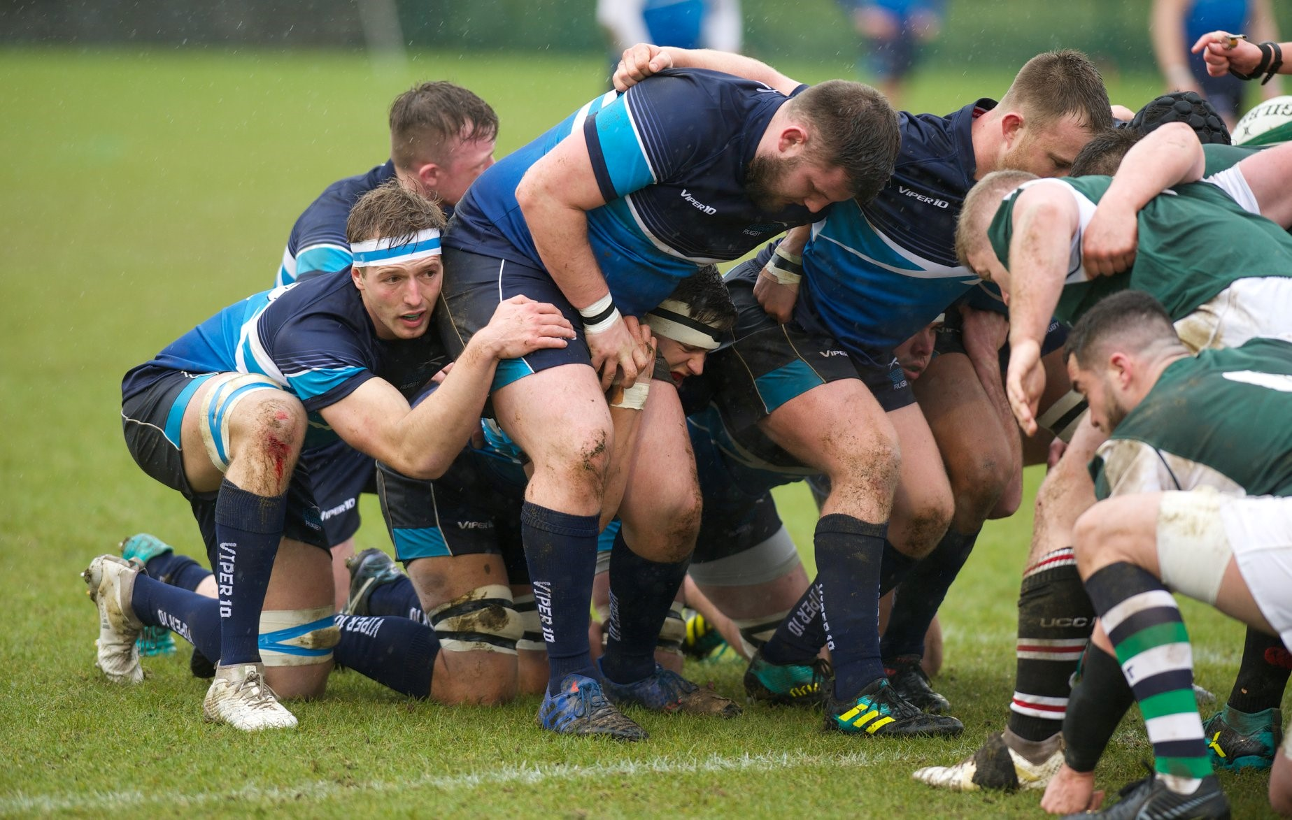 Rugby player turns massage
